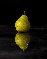 Pear reflected